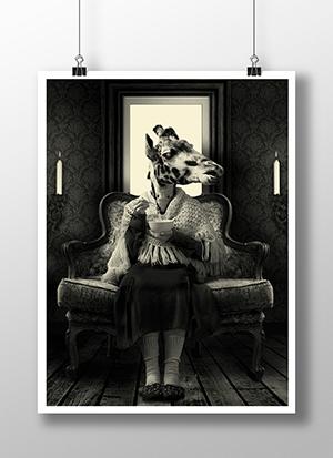 Poster Tea Hour