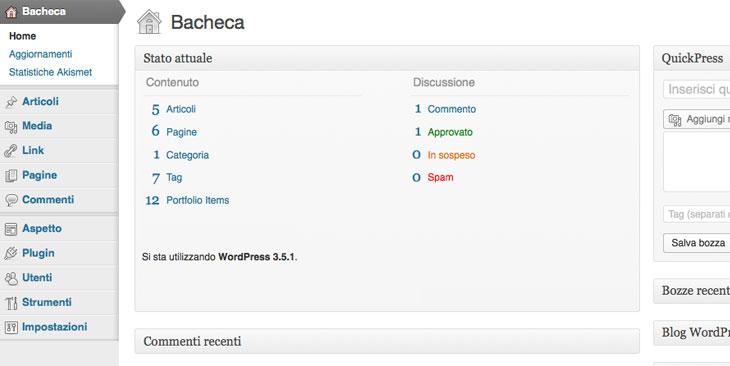 wordpress-bacheca